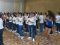 Iniciando la coreografía