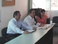 Visita a profesores y funcionarios del campus Villa de Alvarez