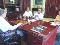 En entrevista con el director del periódico Diario de Colima