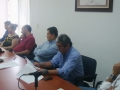 Charla con presidente y regidores del Ayuntamiento de Villa de Álvarez