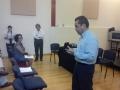 Se promueven acciones conjuntas con profesores del Instituto Universitario de Bellas Artes