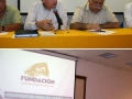 Presentan iniciativas de la Fundación al Rector Miguel Ángel Aguayo López