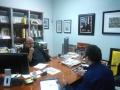 Acuerdan implementar un plan estratégico Secretaria de Cultura y Fundación