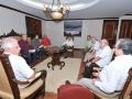 Se reúnen miembros de la Fundación con el rector Arturo Cedillo Nakay