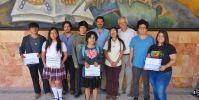 Entrega Fundación Ucol, premios a ganadores de Narrativa gráfica con Valores