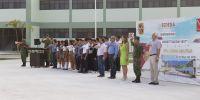 Visitan alumnos de la Secundaria Constitución 1857, la XX Zona Militar