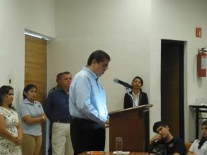 M. en C. Eduardo Hernández Nava. Rector de la Universidad de Colima