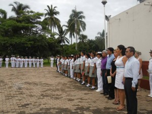 Fundación UCOL presente en la zona naval