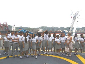 Visita a la zona naval-Manzanillo