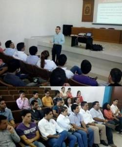 El presidente de la Fundación Universidad de Colima, se reúne con miembros de la FEC para difundir las acciones de la Asociación