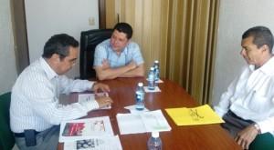 Carlos Salazar se reúne con el presidente municipal de Manzanillo, Virgilio Mendoza, quien ofrece una alianza para trabajar de manera colaborativa