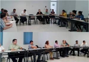 Carlos Salazar presenta nueva propuesta de trabajo de la Fundación en el campus Tecomán