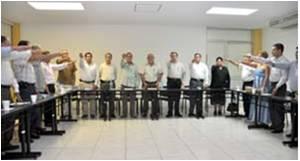 Miguel Ángel Aguayo toma protesta al Comité de Becas de la Fundación de la Universidad de Colima