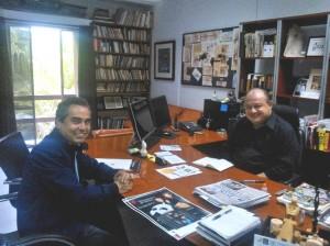 El secretario de Cultura, Rubén Pérez Anguiano, apoya el proyecto de la Fundación UCOL