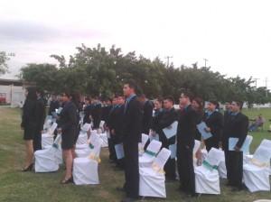 Egresados del Bachillerato Técnico No.28 recibieron apoyo para su titulación
