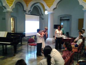 Alumno en concierto didáctico