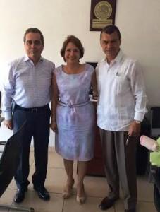La Fundación Ucol visitó a la diputada Martha Sosa Govea
