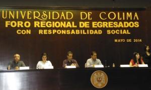 Inauguración del Foro Regional de Egresados