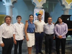 Jóvenes pianistas del IUBA