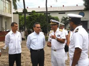 Visita Región Naval 3