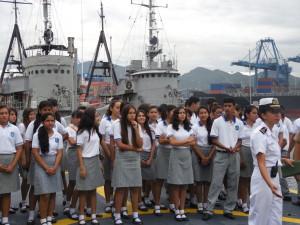 Visita Región Naval 4