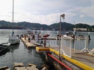 Tercer Visita Región Naval 5