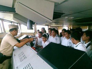 Tercer Visita Región Naval 3