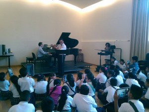 Primer concierto IUBA3