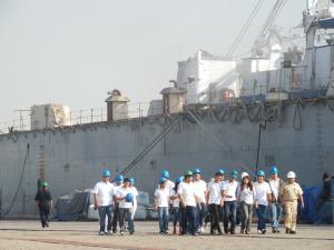 Visita Región Naval 8 Dic2