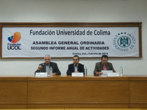 Carlos Salazar Silva, presidente; Juan José Sevilla Solórzano, secretario y Francisco Xavier Oldenbourg Ceballos, tesorero suplente de la Fundación Ucol