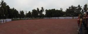 Ceremonia de Izo de Bandera VI Región Naval