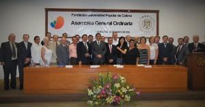 Miembros del Nuevo Consejo Directivo de la Fundación UCOL 2015-2017