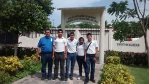 """Alumnos de la Secundaria Técnica No.11 """"Benito Rincón López"""" visitaron la VI Región Naval"""