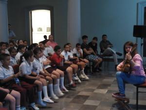 Niñ@s de la escuela primaria José S. Benitez T.M disfrutaron del Concierto Jóvenes Talentos