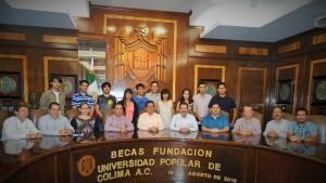 Estudiantes destacados del IUBA reciben estímulo  para participar en Academia y Festival de Música de Tequila 2015