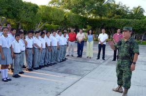 Mensaje de Bienvenida en el 88 Batallón de Infantería