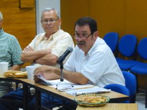 Presidente Fundación UCOL, Francisco Javier Oldenbourg Ceballos, informando los avances del Plan Estratégico